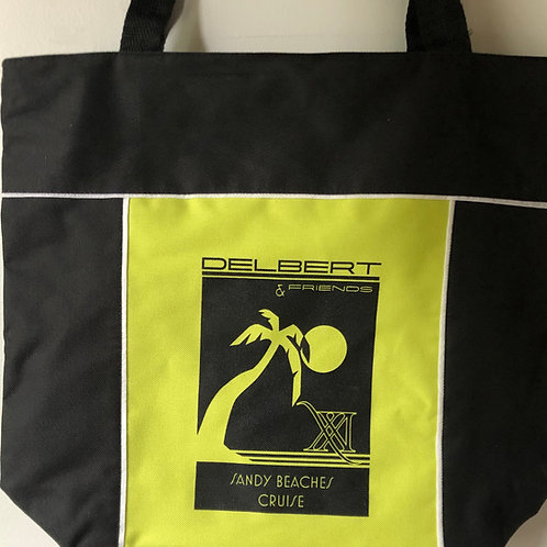 SBC 21 Collector's Tote - Lime Green and Black