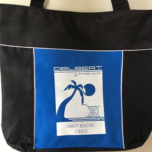 SBC 21 Collector's Tote - Blue and White