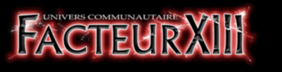 Facteur XIII - Univers communautaire