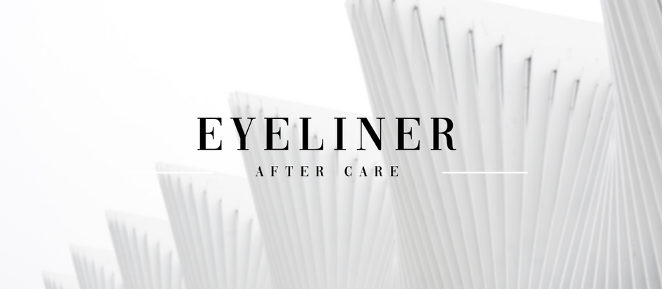 Eyeliner Aftercare
