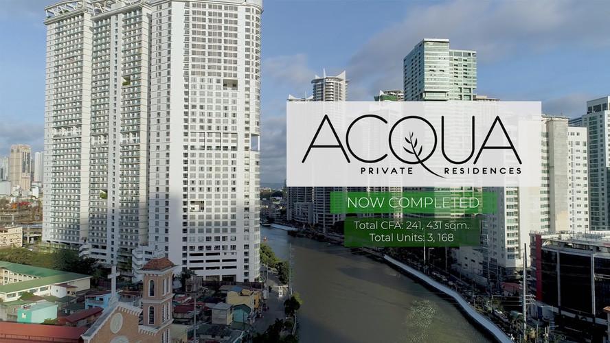 Acqua Residences Completion