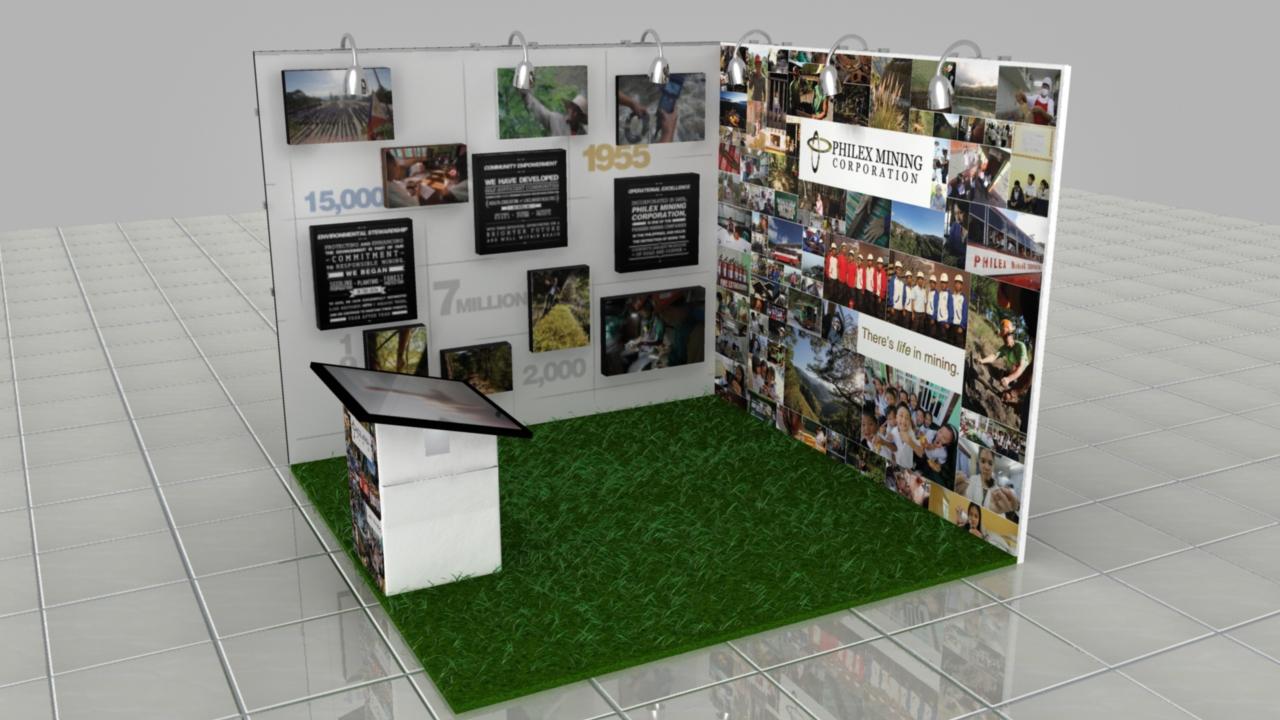 Philex Exhibit 3D by Twenty Manila
