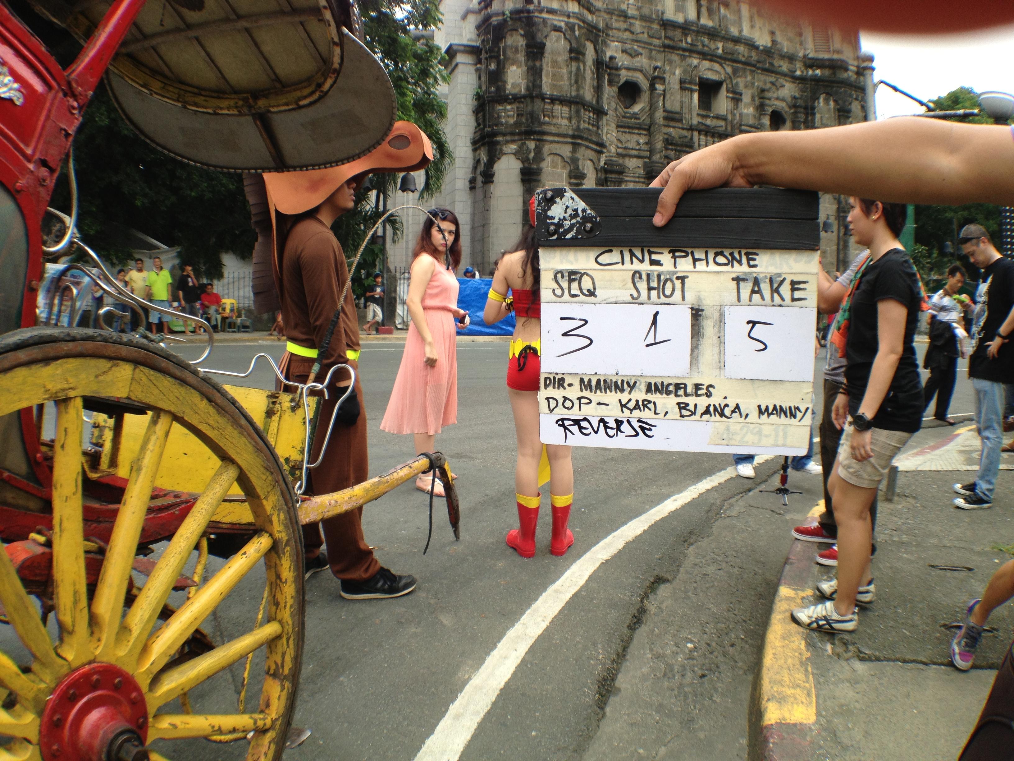 iPhone shoot by Twenty Manila