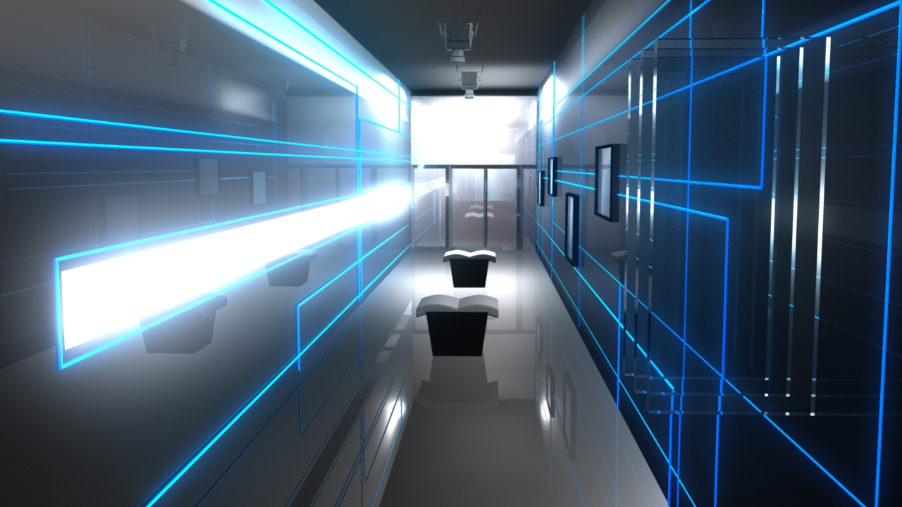 Digital Hallway by Twenty Manila
