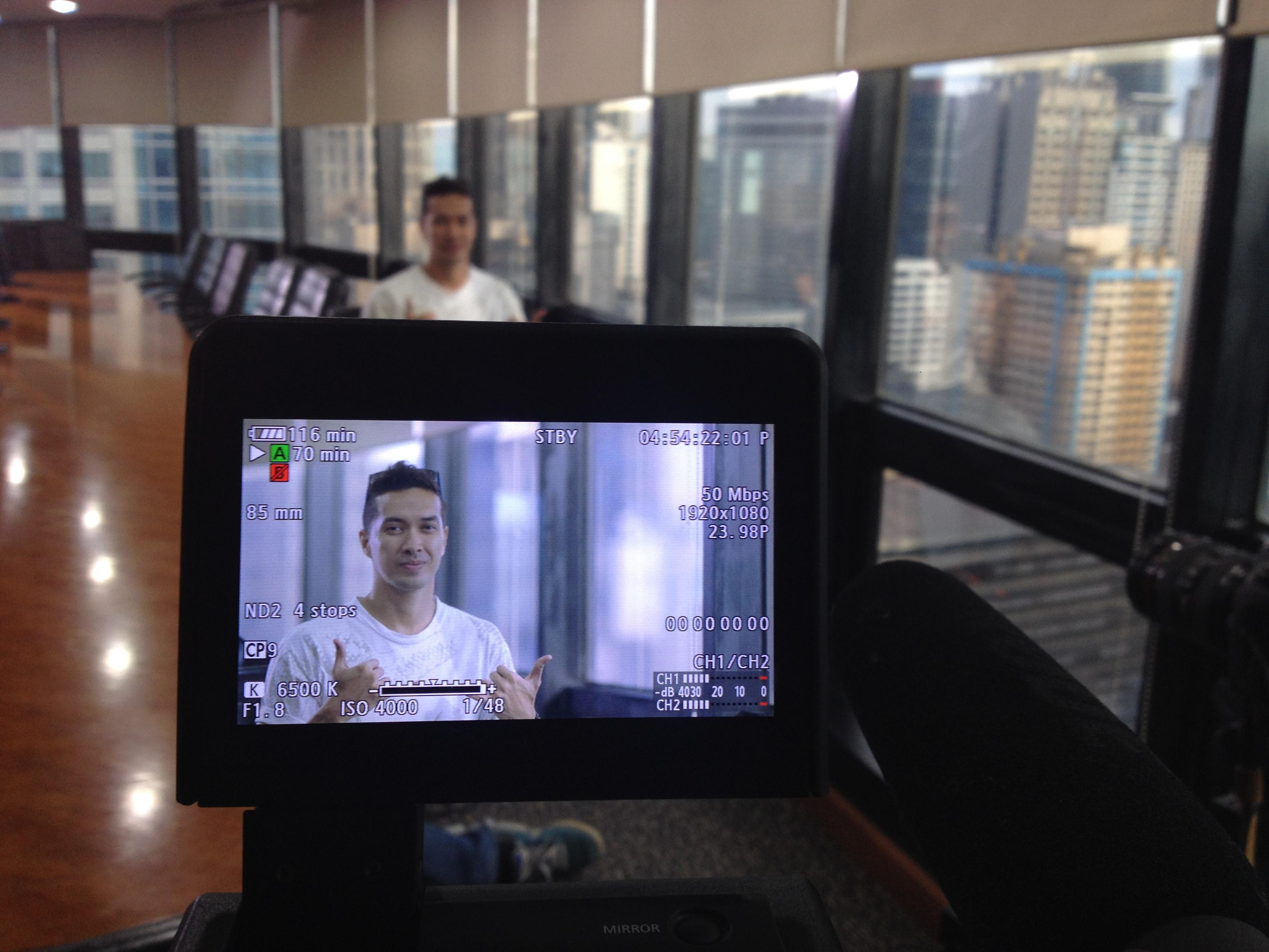 Behind the scenes of Twenty Manila
