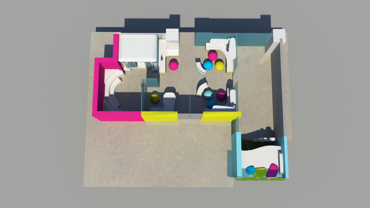 3D space by Twenty Manila