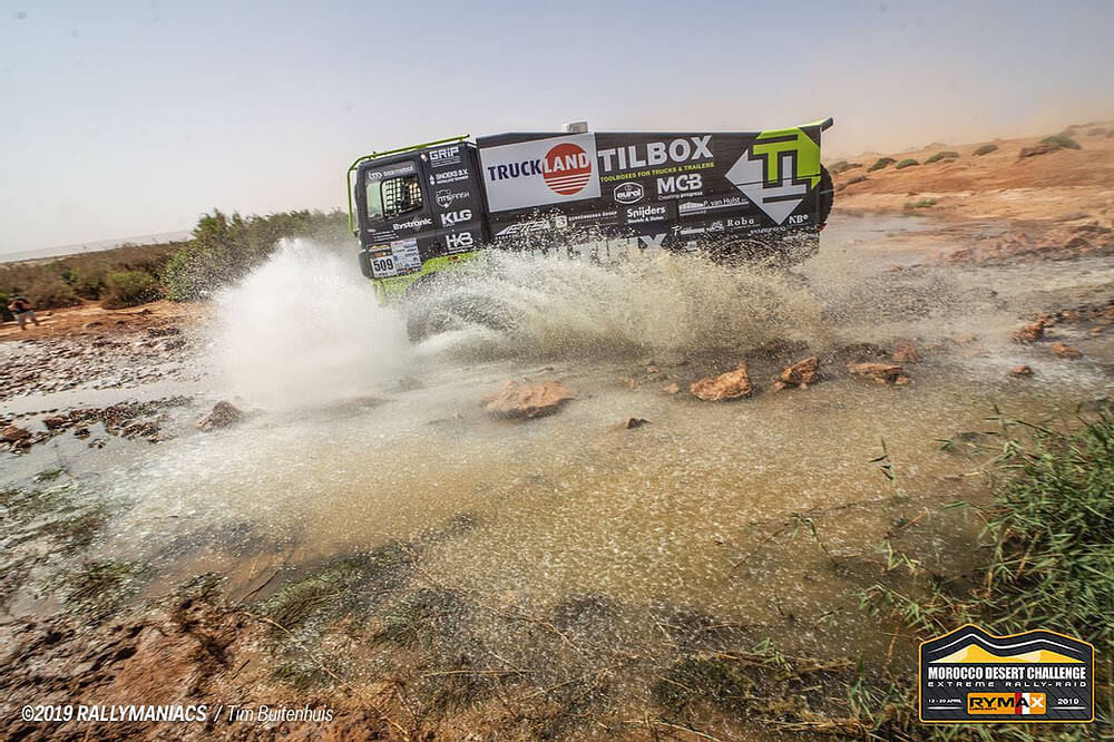 Team Tilbox 2019 mdc morocco desert challenge toolboxes for trucks and trailers