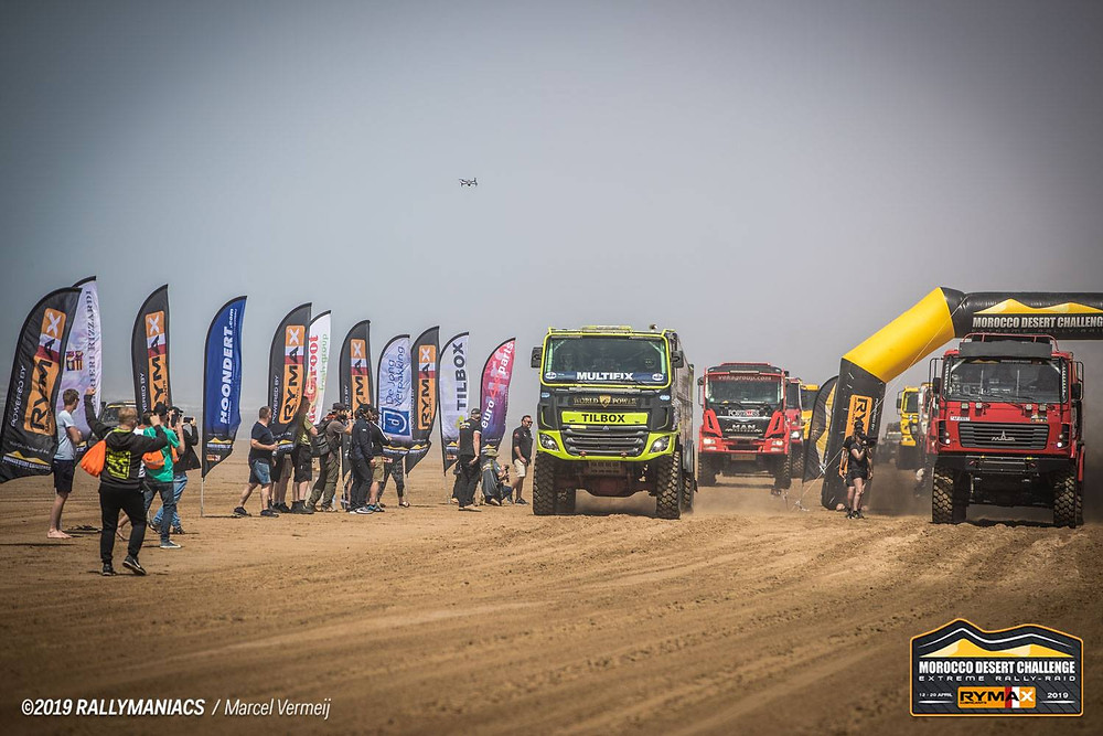 Tilbox truck toolboxes mdc morocco desert challenge