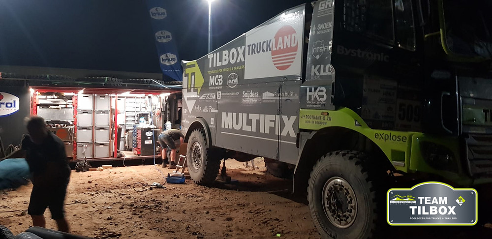 Team Tilbox Truckland Multifix MDC morocco desert challenge 2019 toolboxes trucks trailers