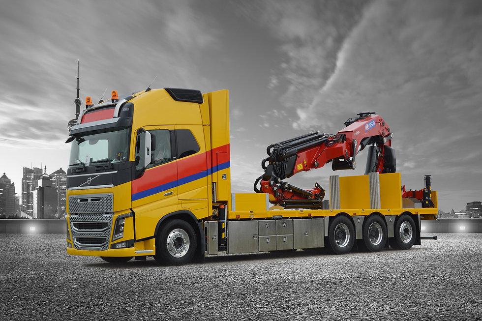Truck met onderbouwkist