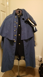 US Uniform Set: Shirt, Blouse, Trousers, Overcoat