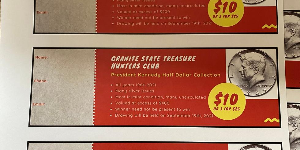 Raffle: Kennedy Half Dollar Collection