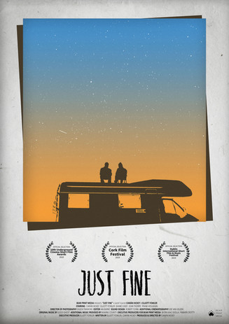 Accolades poster for JUST FINE (2018)