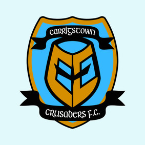 In-continuity football team crest designed for RTÉ's FAIR CITY