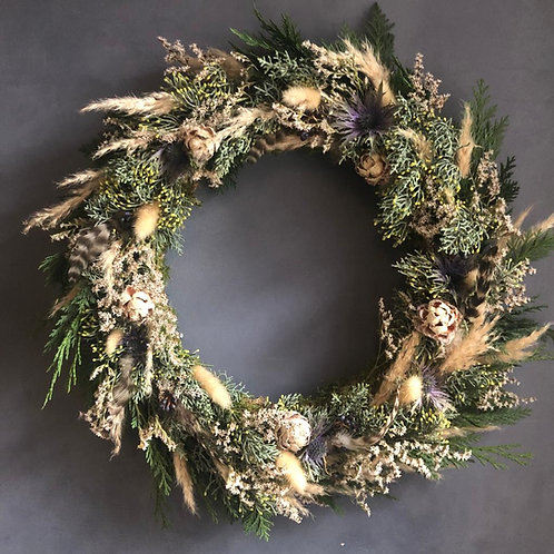 Morning Online Wreath Making - Misty Winter (9th Dec)