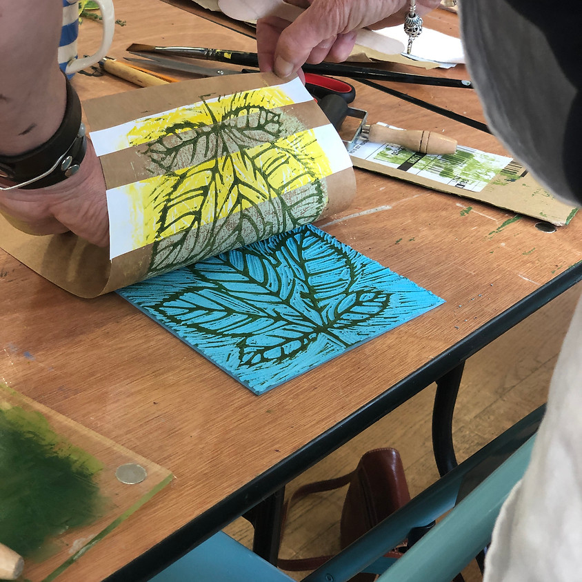 Introductory Lino Printing with Ceira Crainer (Oct 16)