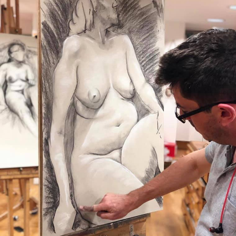 Thurs Evening Unguided Life Drawing Course  (Autumn)