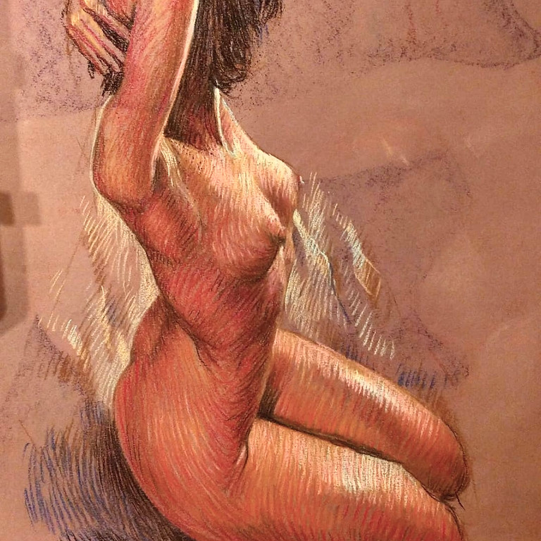 Draw the Human Figure using Pastels & Charcoal, with Alex Alford