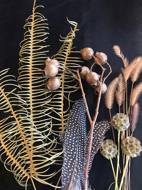Extras for Wreath Making - Russets & Golds