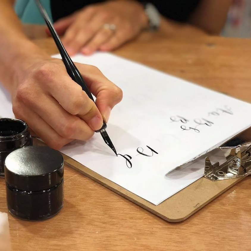 Morning Online Xmas Calligraphy (4th Dec)