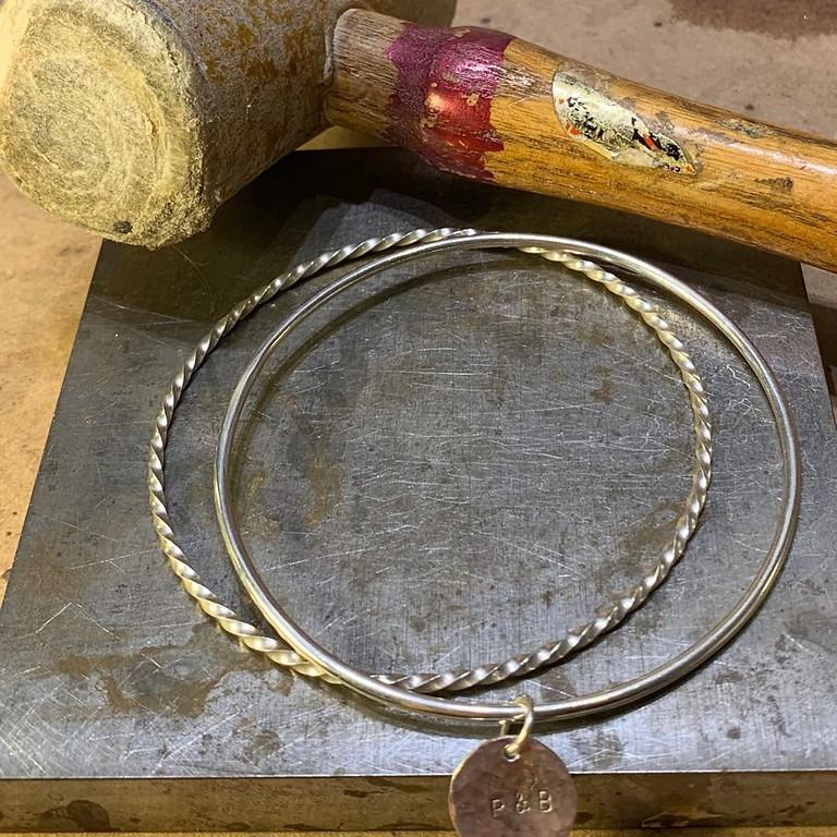 Silver Bangles Jewellery Workshop with Machi De Waard (Oct)