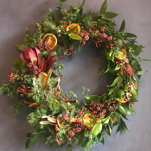 Morning Online Wreath Making - Berry Spice (9th Dec)