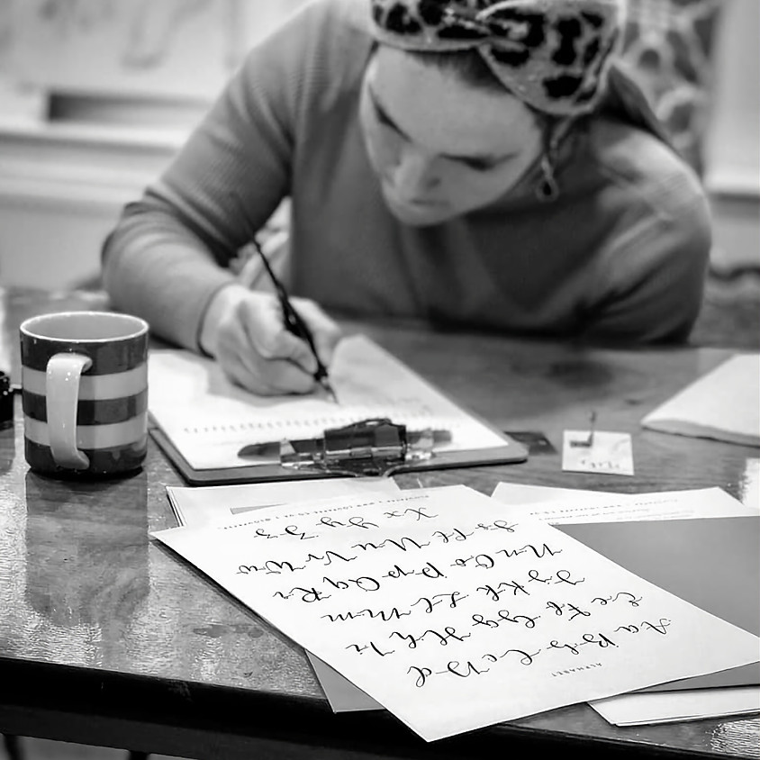Improvers Calligraphy Workshop, with Lou Ralphs