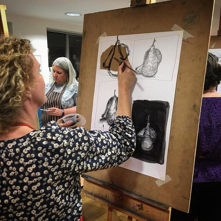 Learn to Draw a Still Life with Nicky Savage, a one day Workshop