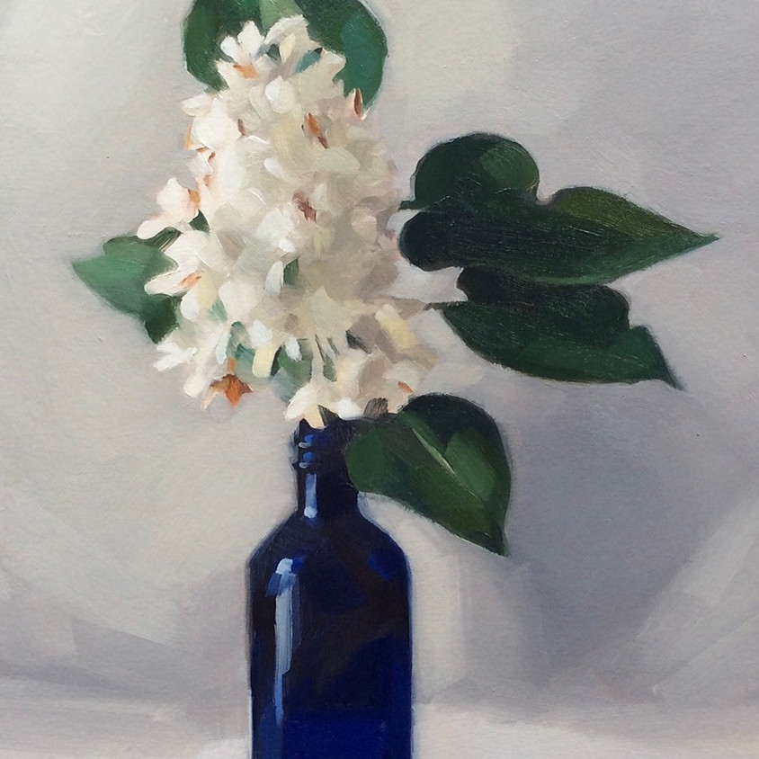 Oil Painting, learn to paint Florals with Robin Danely (Jan)