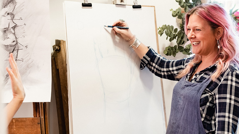 Weds Morning Life Drawing Course with Jo Harris (Autumn)