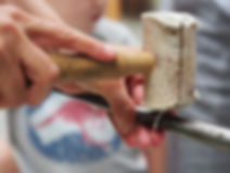 action shot of hammering.JPG