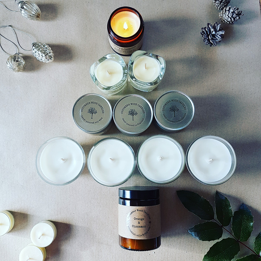 Morning Online Xmas Candle-making (3rd Dec)