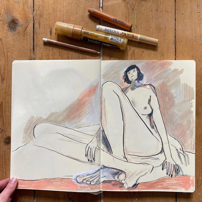 Masterclass Session with Illustrator & Artist Emma Carlisle