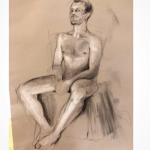 Online Unguided Life Drawing session - Thursday 18th June