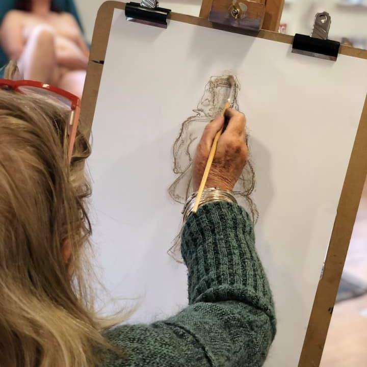 Unguided Life Drawing - Single Pose Sat - Nov