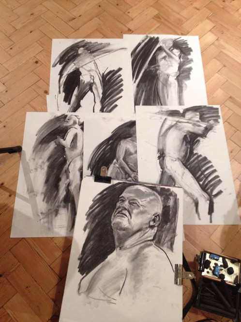 Thursday Evening Unguided Life Drawing Sessions - Drop ins