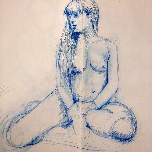 Online Unguided Life Drawing session - Monday 15th June