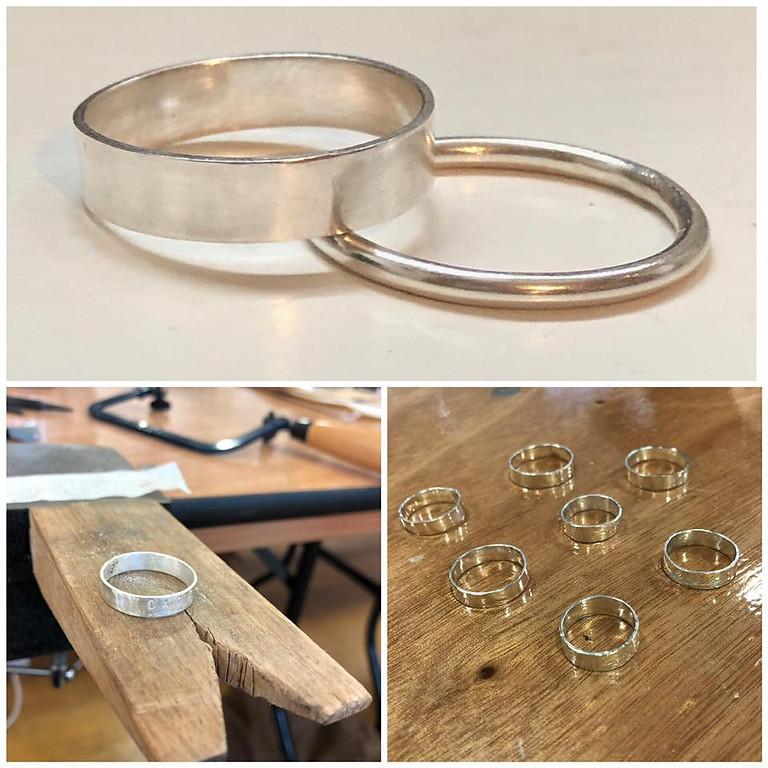 Silver Rings Jewellery Workshop with Machi De Waard (Sept)