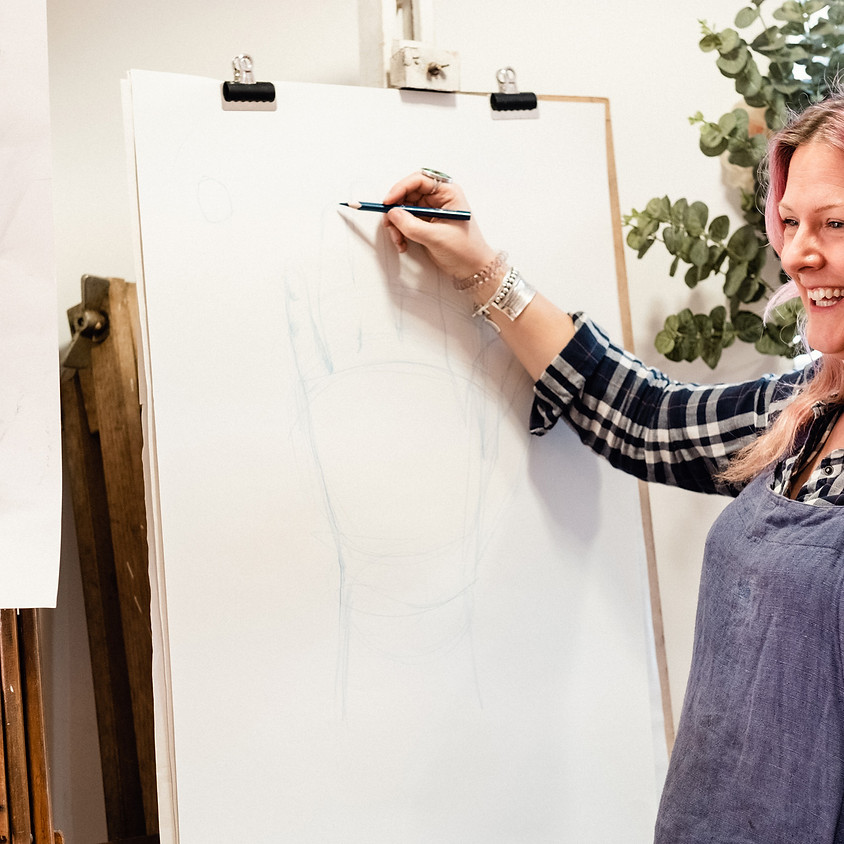 Online Life Drawing for Beginners (JULY)
