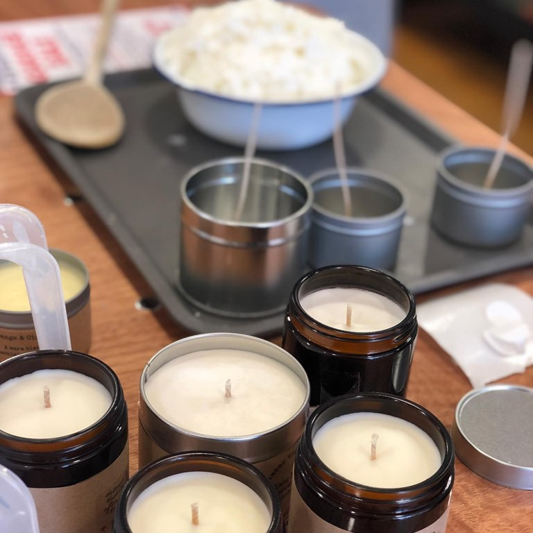 Candle-Making in Jam Jars with Ruth Martin from Cucumberwood Candles (Oct)