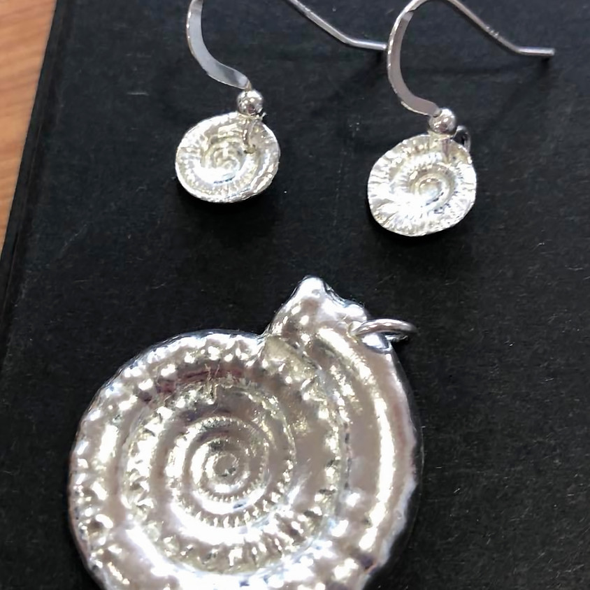 Silver Clay Jewellery Workshop with Wendy Penrose
