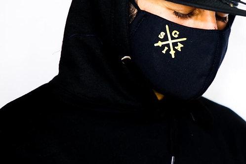 Black/Gold G6 Mask