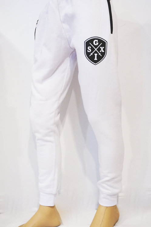 G6 White Joggers