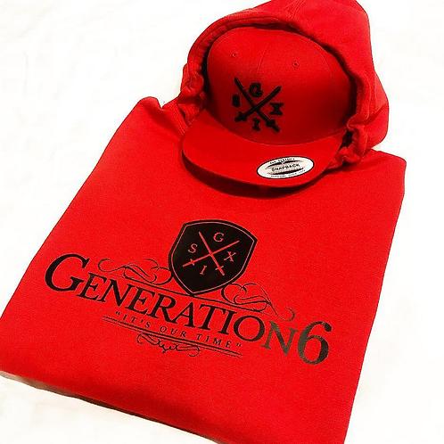 Red/Black G6 Hoodie