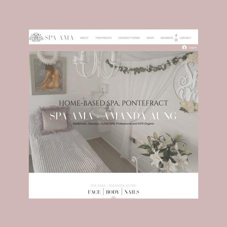 Spa AMA - Website Refresh