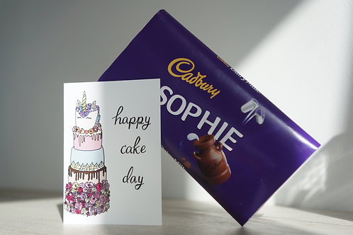 Happy Cake Day - Occasion Card