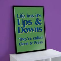 Clean & Press Print