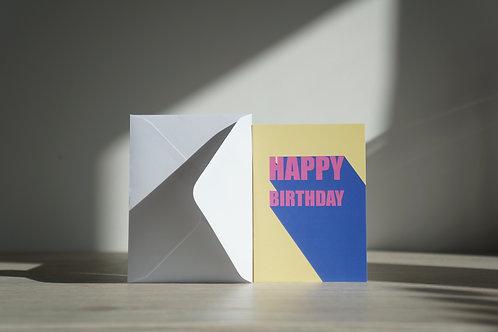 Bold Birthday - Occasion Card