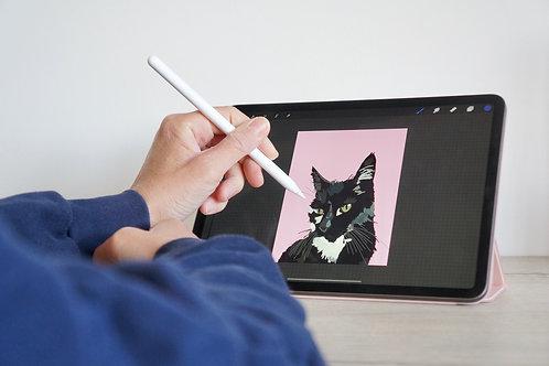 Pet Portrait (Digital Copy)