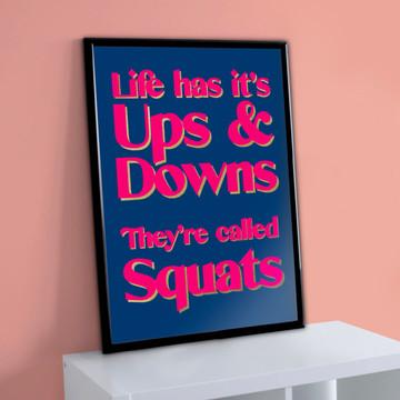 Squats Print
